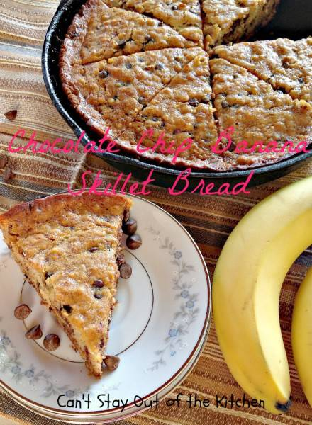 Chocolate Chip Banana Skillet Bread - IMG_8898.jpg