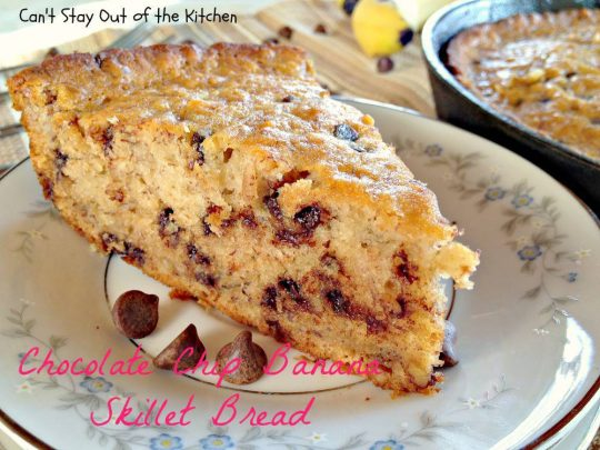 Chocolate Chip Banana Skillet Bread - IMG_8907.jpg