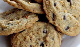 Chocolate Chip Cheesecake Peanut Butter Cookies