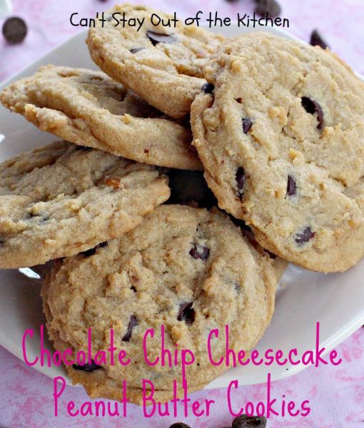 Chocolate Chip Cheesecake Peanut Butter Cookies - IMG_3574.jpg