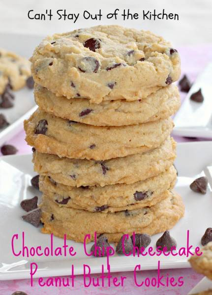 Chocolate Chip Cheesecake Peanut Butter Cookies - IMG_3592.jpg