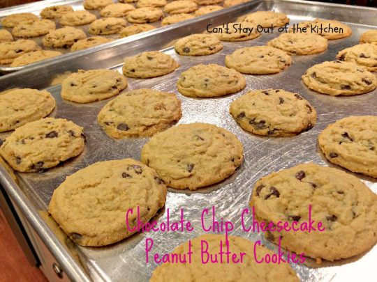 Chocolate Chip Cheesecake Peanut Butter Cookies - IMG_8054.jpg