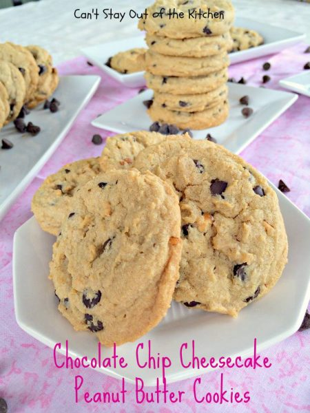 Chocolate Chip Cheesecake Peanut Butter Cookies - IMG_8120.jpg