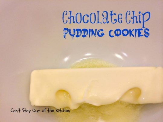 Chocolate Chip Pudding Cookies - IMG_0505