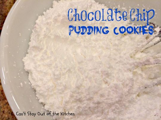 Chocolate Chip Pudding Cookies - IMG_0508