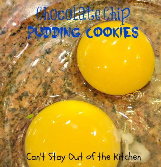 Chocolate Chip Pudding Cookies - IMG_0542