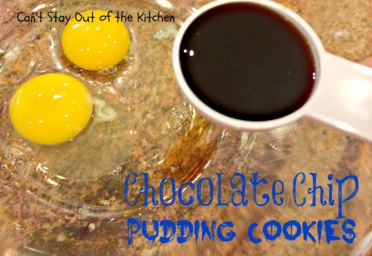 Chocolate Chip Pudding Cookies - IMG_0543