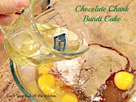 Chocolate Chunk Bundt Cake - IMG_0791