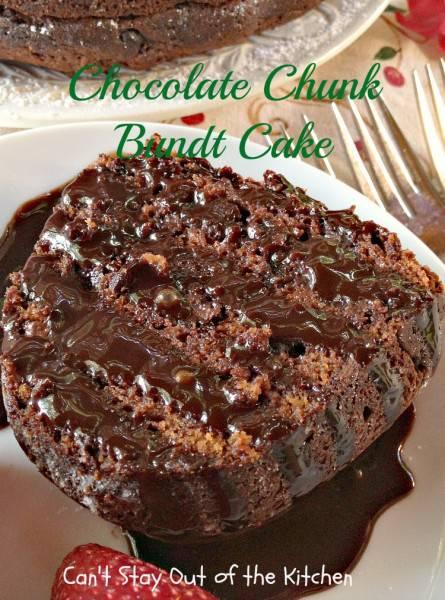Chocolate Chunk Bundt Cake - IMG_1008