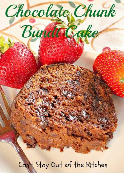 Chocolate Chunk Bundt Cake - IMG_6737