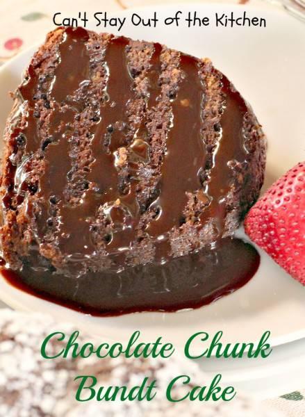 Chocolate Chunk Bundt Cake - IMG_6744
