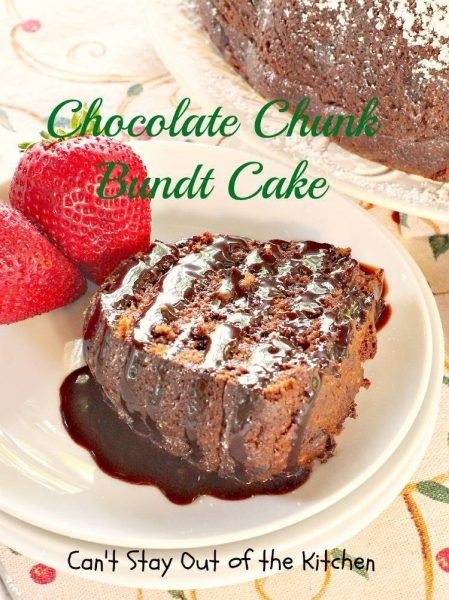 Chocolate Chunk Bundt Cake - IMG_6751