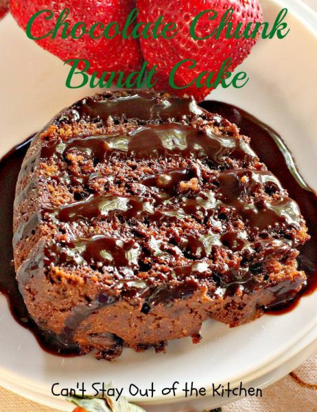 Chocolate Chunk Bundt Cake - IMG_6754