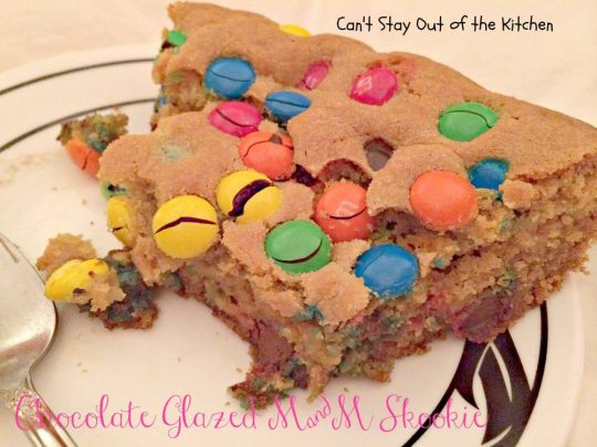 Chocolate Glazed M&M Skookie - IMG_3207
