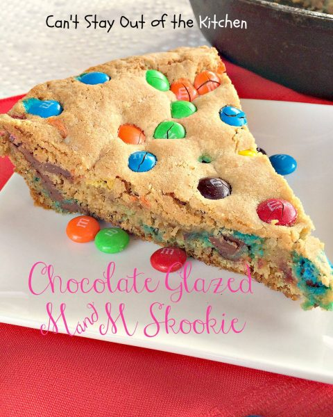 Chocolate Glazed M&M SkookieIMG_3220
