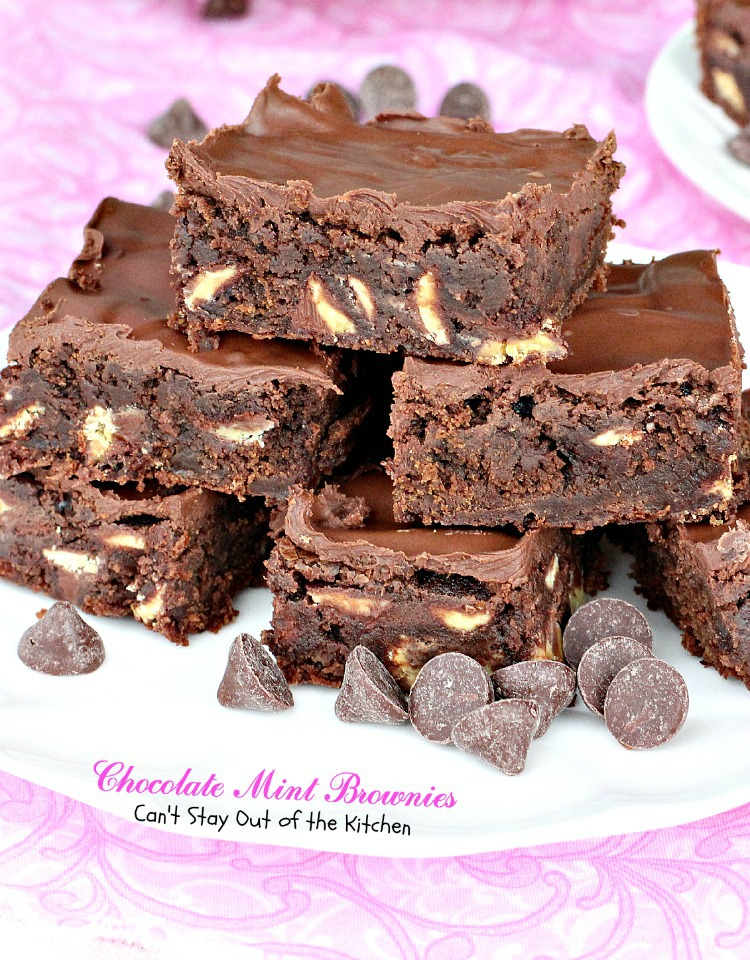 Texas Sheet Cake Brownies - Can't Stay Out of the Kitchen