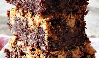 Chocolate Vanilla Swirl Brownies