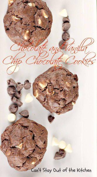 Chocolate and Vanilla Chip Chocolate Cookies - Large Pin - IMG_9103