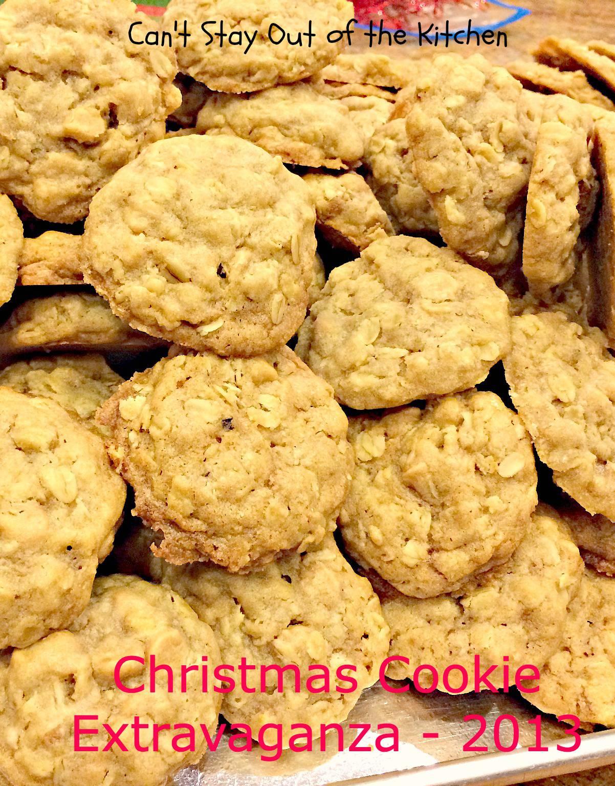 Easy big batch cookie recipes