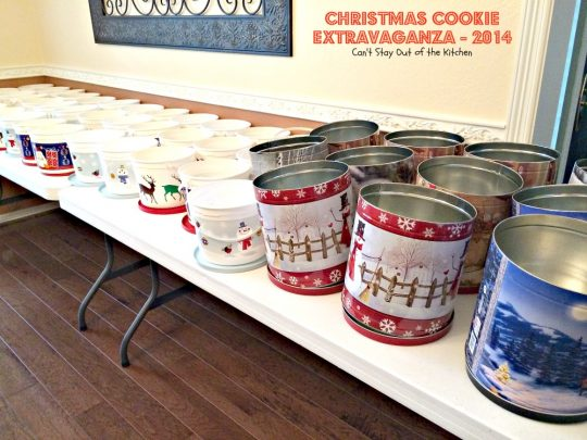 Christmas Cookie Extravaganza - 2014 | Can't Stay Out of the Kitchen