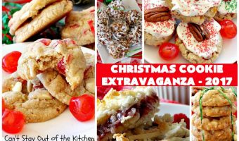 Christmas Cookie Extravaganza – 2017