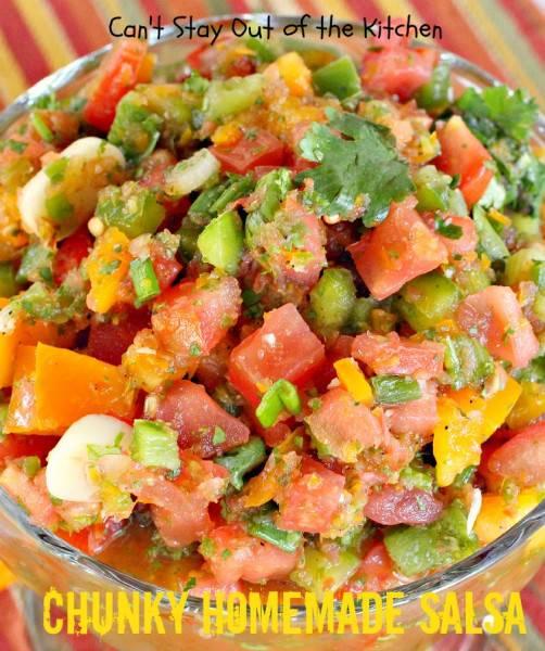 Chunky Homemade Salsa - IMG_0058