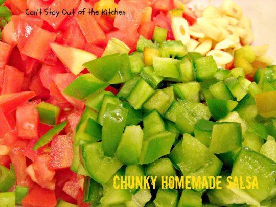 Chunky Homemade Salsa - IMG_4434