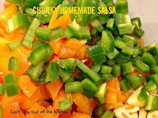 Chunky Homemade Salsa - IMG_4436