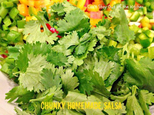 Chunky Homemade Salsa - IMG_4437