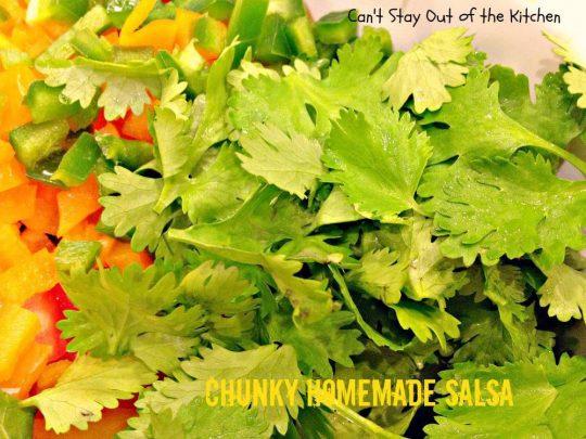 Chunky Homemade Salsa - IMG_4438