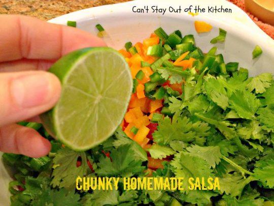 Chunky Homemade Salsa - IMG_4439