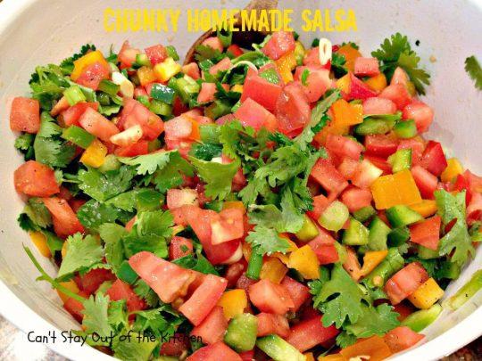 Chunky Homemade Salsa - IMG_4442