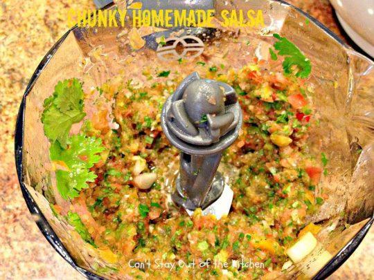 Chunky Homemade Salsa - IMG_4446