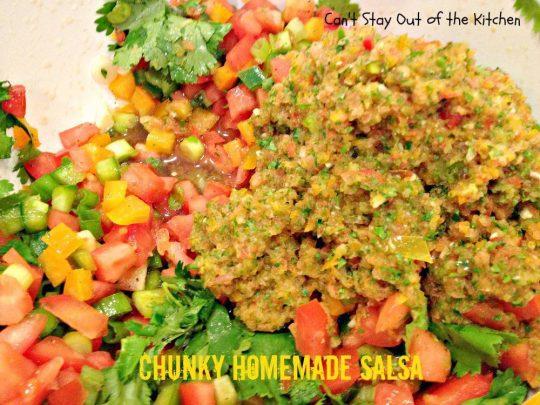 Chunky Homemade Salsa - IMG_4447