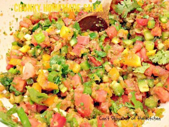 Chunky Homemade Salsa - IMG_4448