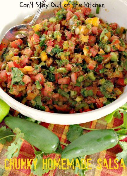 Chunky Homemade Salsa - IMG_4457