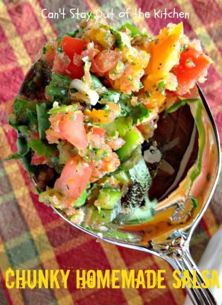 Chunky Homemade Salsa - IMG_4466