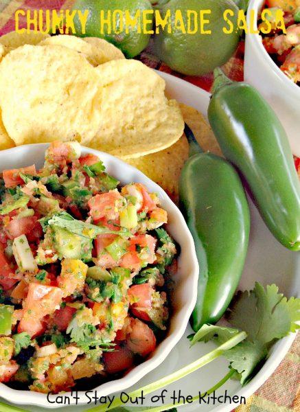 Chunky Homemade Salsa - IMG_4487