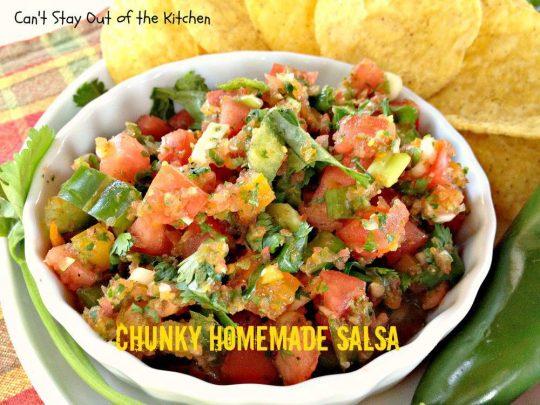 Chunky Homemade Salsa - IMG_4492