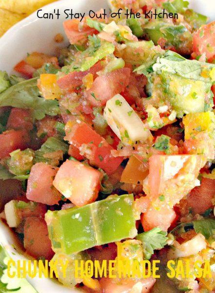 Chunky Homemade Salsa - IMG_4497