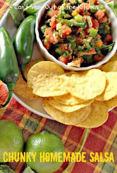 Chunky Homemade Salsa - IMG_4507