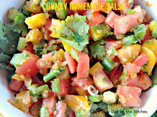 Chunky Homemade Salsa - IMG_4514