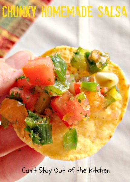 Chunky Homemade Salsa - IMG_4534