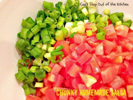Chunky Homemade Sauce - IMG_4432