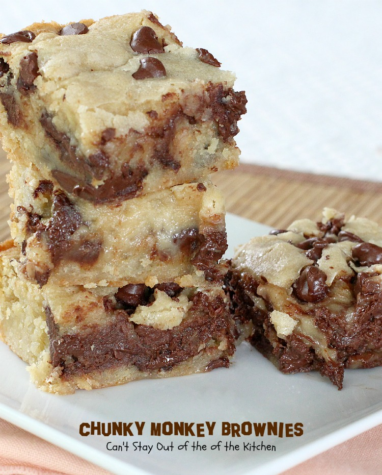 Chunky Monkey Brownies Can T Stay Out Of The Kitchen
