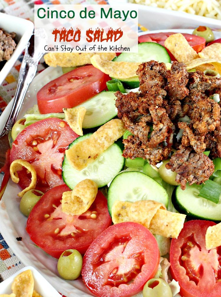 Taco Salad Recipe With Mayonnaise