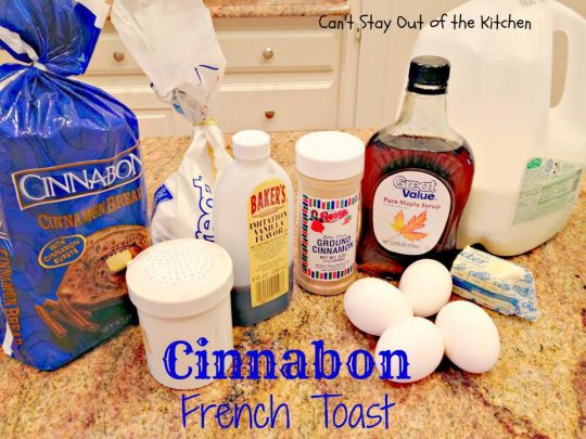 Cinnabon French Toast - IMG_1749