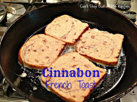 Cinnabon French Toast - IMG_1757