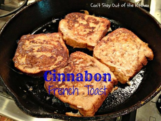 Cinnabon French Toast - IMG_1758