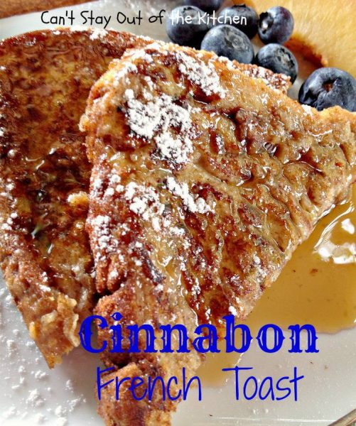 Cinnabon French Toast - IMG_1767